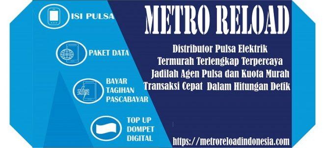 metro reload pulsa murah