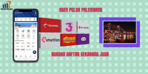 Agen Pulsa Palembang